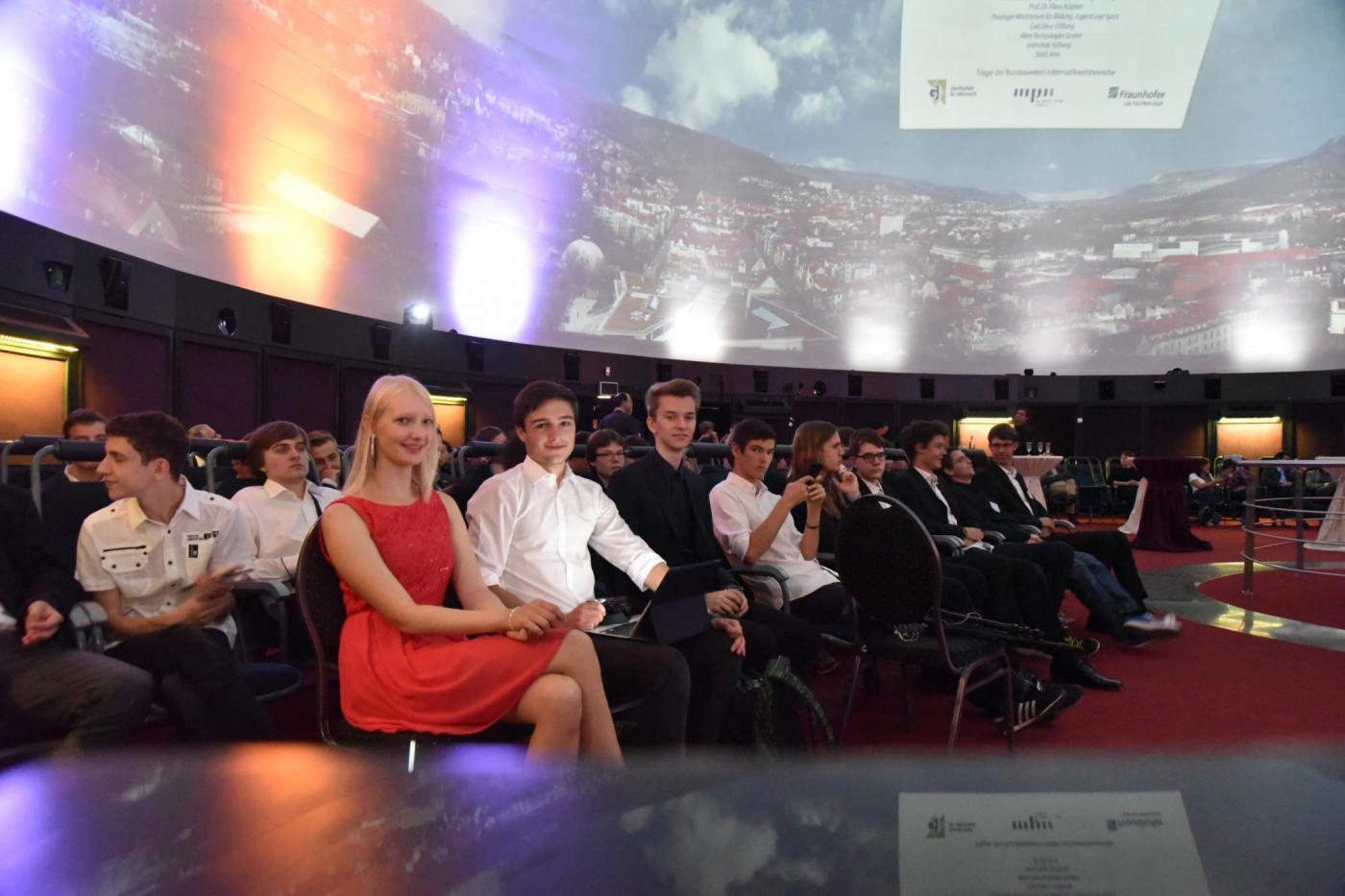 Auszeichnungsveranstaltung im Zeiss Planetarium Jena (Copyright: FSU Jena/Anne Günther)